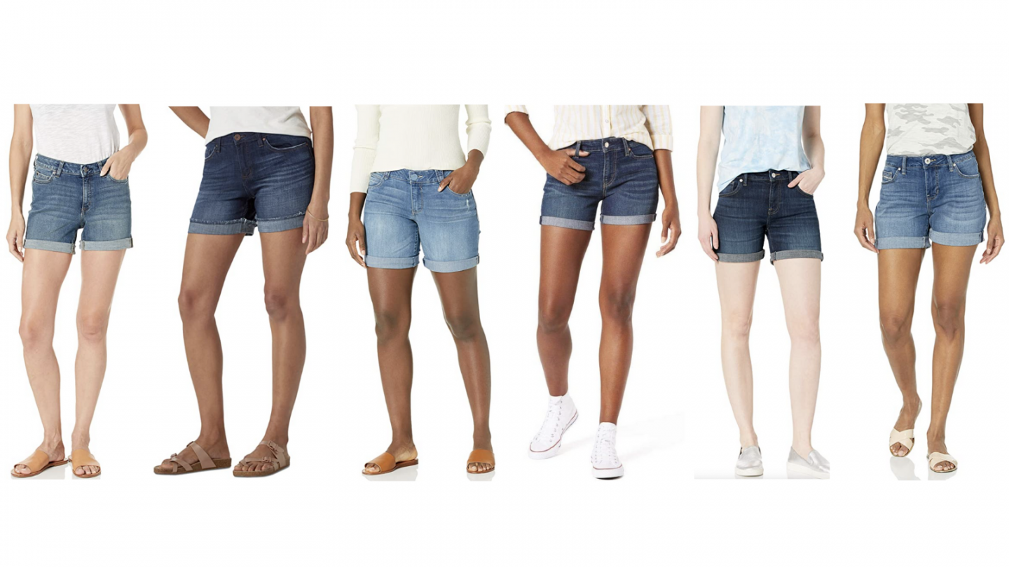 Amazon's Best Denim Shorts!
